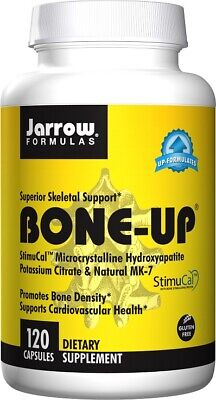 £17.49 • Buy Jarrow Formulas Bone-Up 120-240-360 Capsules | StimuCal Calcium Boron Vit K MK-7