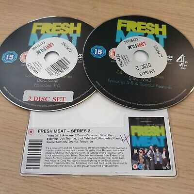 £2 • Buy DISC ONLY - Fresh Meat: Series 2 DVD