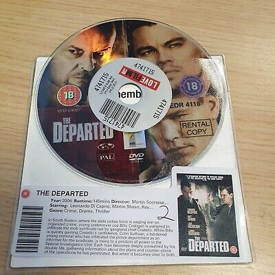 DISC ONLY - The Departed DVD  - Leonardo Dicaprio • 1.65£
