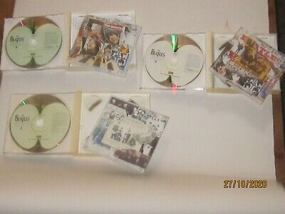 Beatles Anthology-No's1,2&-3x Double CD's-All 3  Have Booklet+ Live At The  BBC  • 15£