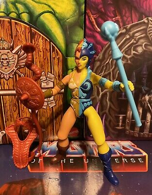 $45 • Buy MOTU Masters Of The Universe Origins Custom Teela Evil Lyn (Teevil)