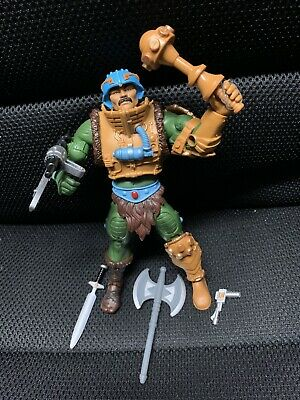 $110 • Buy Masters Of The Universe Classics MAN AT ARMS W/ Arsenal Of Weapons, As Shown