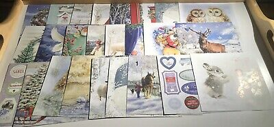 Hunkydory Christmas The Square Little Book Of Winter Wishes Sample Pack 25 Pages • 1.25£