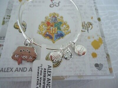 AU42.72 • Buy Alex And Ani Harry Potter MONSTER BOOK OF MONSTERS  Bangle New W/Tag Card & Box