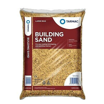 Building Sand 25kg For Bricklaying Mortar When Mixed With Cement • 6£