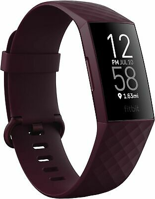 $ CDN162.13 • Buy Fitbit Charge 4 Fitness Activity Tracker ROSEWOOD - GPS -Touchscreen -Swim Proof