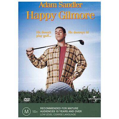 AU12.95 • Buy Happy Gilmore DVD Brand New Region 4 Aust. - Adam Sandler - Free Post