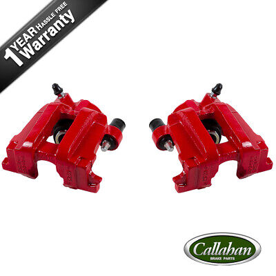 $160.10 • Buy Rear Red Coated Brake Calipers For FORD ESCAPE MAZDA TRIBUTE MARINER