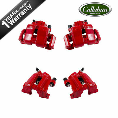 $298.26 • Buy Front+Rear Red Coated Brake Calipers For 05 - 06 Escape 05 - 07 Mercury Mariner