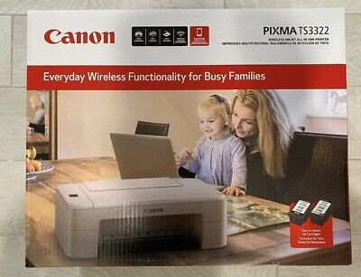 View Details Brand New Canon TS3322 Wireless All In One Printer - FREE + FAST SHIPPING • 69.99$