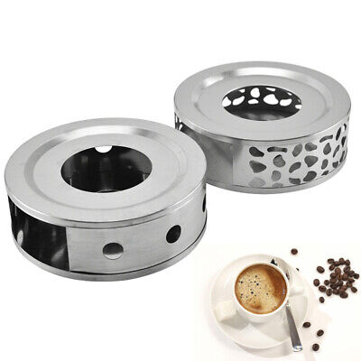 1×Stainless Steel Tea Warmer With Tea Light Holder For Tea And Coffee Pots • 8.99£