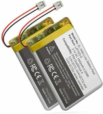 AU48.22 • Buy Replacement Battery Pack-2PC For PS4 Controller V4, Li-ion Rechargeable Battery
