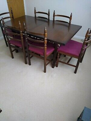 Toledo Dining Table And 6 Chairs. Excellent Condition, Loved And Looked After. • 30£