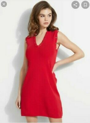 Guess Bodycon Red Dress New With Tags Size L • 11.50£