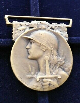WW1 French Commemorative War Medal. LE GRANDE GUERRE Original Medal  • 16.49£