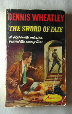 Vintage Paperback Dennis Wheatley The Sword Of Fate Arrow 1962 Free Post • 4.99£