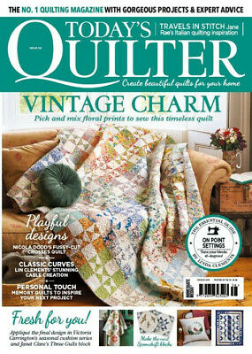 Today's Quilter Magazine Issue No. 56 With Free Scrapbusters Gift Insert • 2.99£