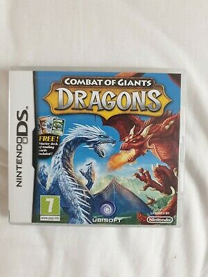 Combat Of Giants: Dragons - Nintendo DS - Complete With Manual  • 3.75£