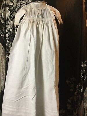 Beautiful Antique Babies Christening Gown, Nightdress • 9.99£