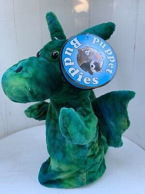 £7 • Buy The Puppet Company GREEN DRAGON  Hand Puppet New With Tags UK