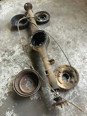 AU1099.99 • Buy Ford 9 Inch Diff F100 Housing 31 Splines Axles Backing Plates Cables Drums Used