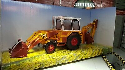 Model JCB 3C Digger Backhoe Mk3 Weathered 1:32 Scale Britains Diecast MkIII • 30£