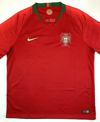 Nike PORTUGAL 2018/19 XL Home Football Shirt Soccer Jersey FPF Camisa Top Kit • 34.99£