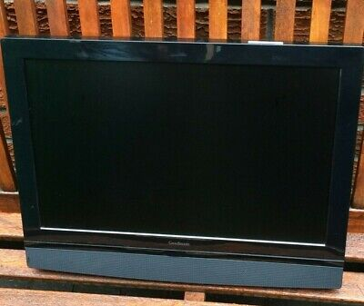 Goodmans LCD Widescreen TV GTVL19W17HDV 19  12V Television With DVD • 60£