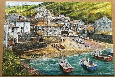 Gibsons-  Port Isaac 500 Piece Jigsaw Puzzle - Terry Harrison • 2£