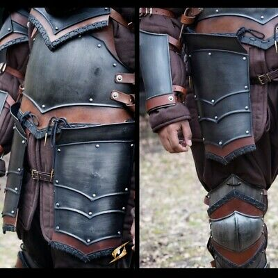 £65 • Buy Metal Armour Rogue Tassets - Epic Dark Ideal For LARP Or Costume