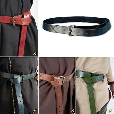 £30 • Buy Quality Leather Tunic X-Belt. Perfect For Stage Costume & LARP In 5 Colours