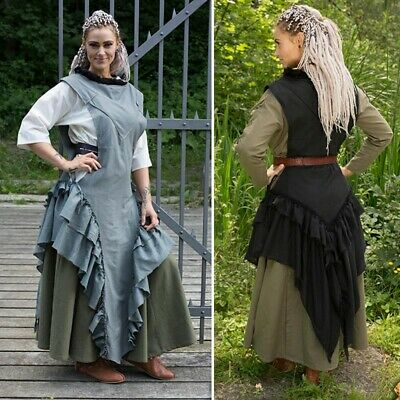 £42 • Buy Medieval Viking Raven Dress, Ideal For Costume Or LARP Events