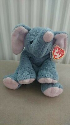 Ty Beanie Babies ' Winks' The Elephant Perfect Condition Retired 2002 • 3.99£