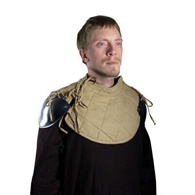 £37.50 • Buy RFB Padded Metal Shoulder Armour. Ideal For Medieval Costume Or LARP
