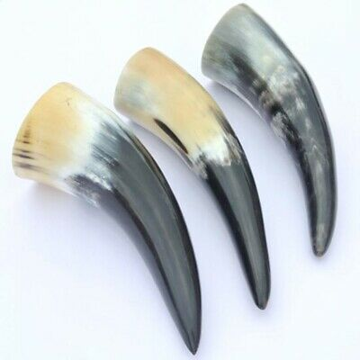 £12 • Buy Medieval / Viking Drinking Horn 3 Set, Perfect For Home, Costume Or LARP