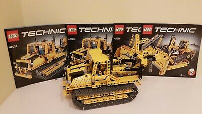 Lego Technic Bulldozer And Digger 2-in-1 Set (42028) 100% Complete  • 14.99£