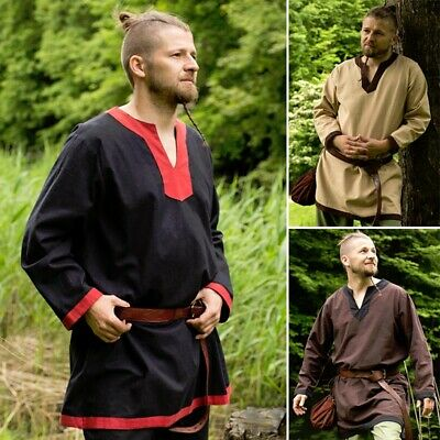 Medieval Tunic - 3 Colours - Perfect For LARP Or Re-Enactment / Costume • 36£