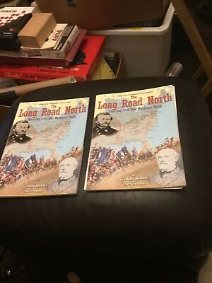 2 X The Long Road North - American Civil War Wargames Rules Magazines & Inserts • 3£