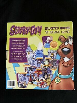 Scooby Doo Haunted House 3D Board Game • 1.30£