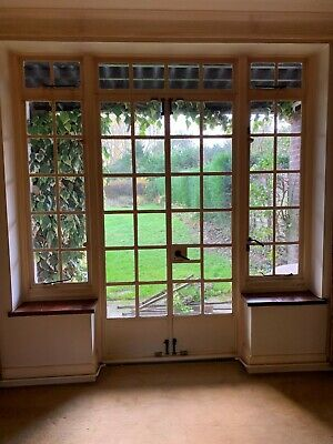 Original 1930s Crittall Patio Doors & Side Windows. This Ad Is For Two Sets  • 800£
