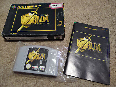 The Legend Of Zelda Ocarina Of Time (Nintendo 64, PAL) - Boxed W/instructions 🎁 • 8.40£