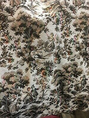 Tapestry Fabric Upholstery Design Curtains Cushions Throws • 6£