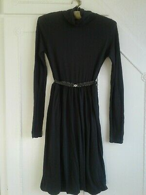 Guess Grey Modal/cotton Long Sleeved   Style Dress M _12 • 5£