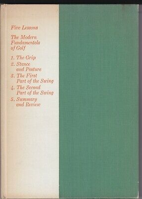 £31.88 • Buy Five Lessons The Modern Fundamentals Of Golf By Ben Hogan 1957 <>