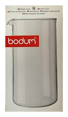 Bodum Spare Glass Carafe For French Press Coffee Maker, 8-Cup, 1.0 Liter, 34oz • 19.11£