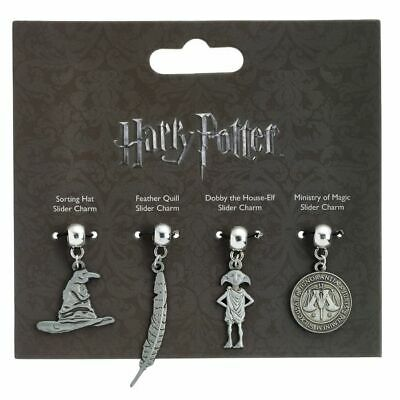 £1.99 • Buy Official Harry Potter Dobby, Feather, Ministry Of Magic & Sorting Hat Charm Set