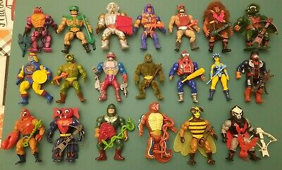 $374.99 • Buy VINTAGE MOTU (20) LOT Masters Of The Universe Instant Collection Very Nice