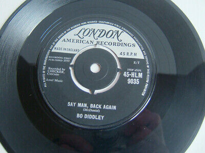 Bo Diddley - Say Man, Back Again / She's Alright (7 , Single) London Records –  • 30£