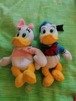 Disney Donald And Daisy Duck Collectable Teddies • 5£