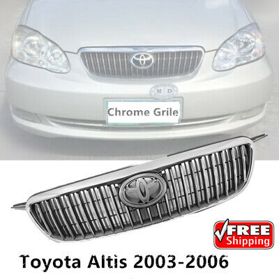 $87.99 • Buy NEW Front Chrome Hood Grille Grill Fit For Toyota Corolla ALTIS 2003 04 05 2006